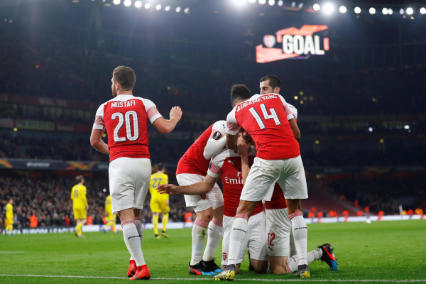 Arsenal forced to play Europa League last-16 first leg vs Rennes away from home