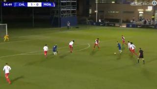 Video: Chelsea wonderkid scores long-range stunner vs Monaco in Under-19s clash
