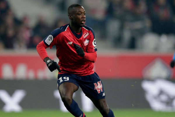 Image result for Nicolas Pepe 600 x 400