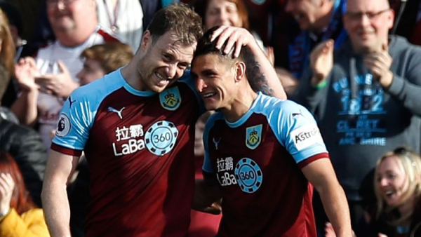 Spurs suffer title blow at Burnley