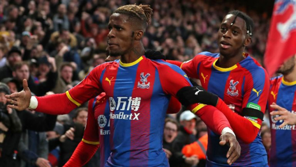Zaha denies West Ham victory