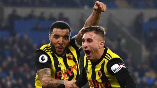 Deulofeu hat-trick as Watford hit five
