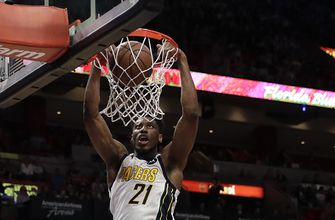Pacers find themselves standing tall without Oladipo