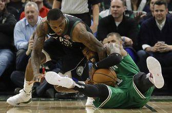 Antetokounmpo scores 30 points, Bucks beat Celtics 98-97