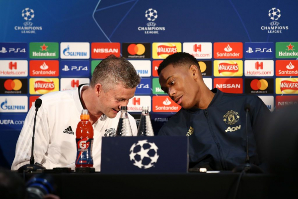 Anthony Martial sends message to Manchester United board over Ole Gunnar Solskjaer