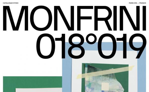 Florian Monfrini — Catalogue 018°019