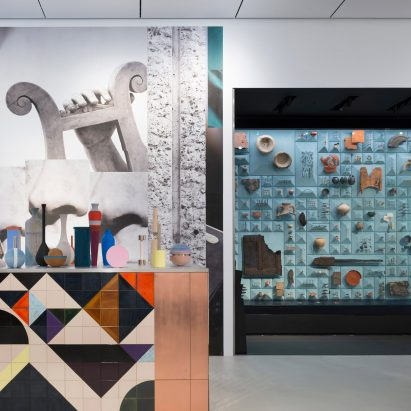 Claudia Wieser's Shift installation for Bloomberg Space references Roman antiquity