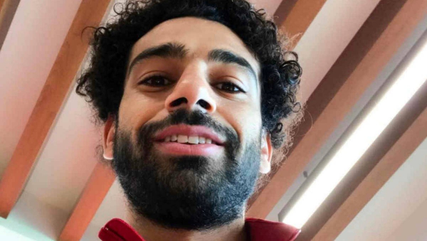 Gary Lineker reacts to Mo Salah's goal in Liverpool FC's 3-0 win over Bournemouth