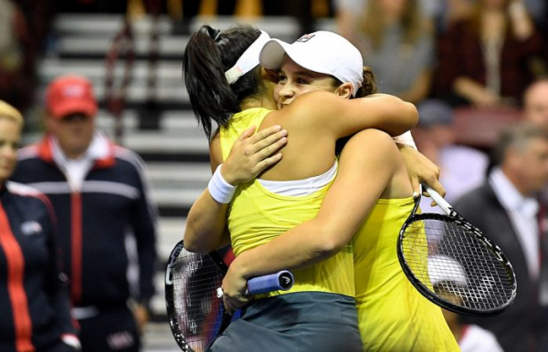 Unbeatable Barty spearheads Australian victory
