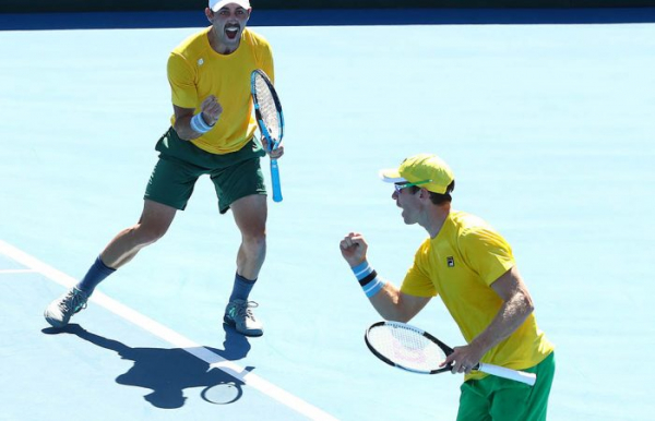 Australia to face Belgium and Colombia in Davis Cup