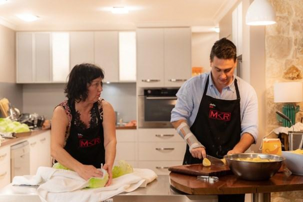 My Kitchen Rules: Sweet taste of success for perfect WA pair Lisa and John Krasenstein