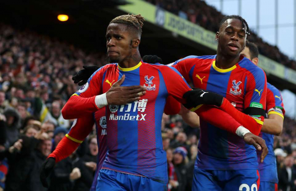 Crystal Palace fan had the last laugh after West Ham fans sung about Wilfried Zaha