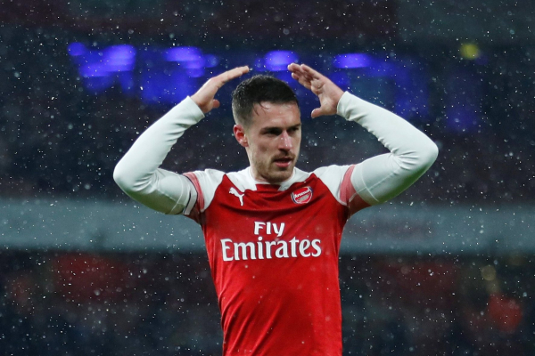 Arsenal never used Aaron Ramsey in his best position, claims Juventus chief
