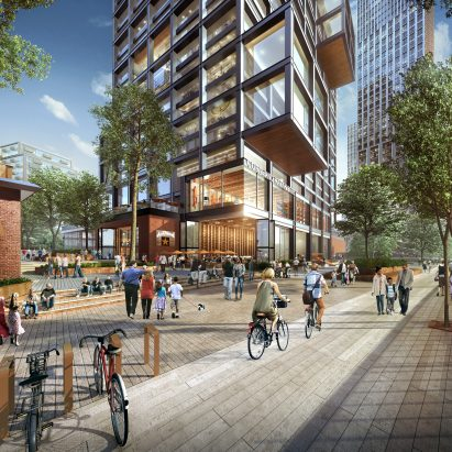 SOM unveils plans for Chicago's Lincoln Yards neigbourhood