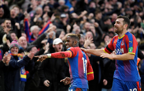Crystal Palace 1 West Ham 1: Wilfried Zaha seals comeback draw at Selhurst Park