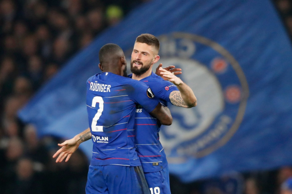 Olivier Giroud says anything can happen in EFL Cup Final as Chelsea look to shock Man City