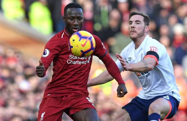 Video of Naby Keita v Bournemouth shows Andrew Robertson was right about him