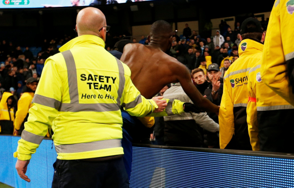 Antonio Rudiger involved in heated argument with Chelsea fan after Manchester City loss