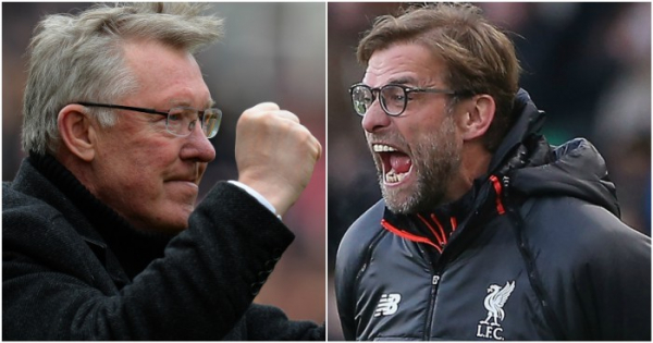 Klopp opens up over admiration for 'incredible' Man Utd legend