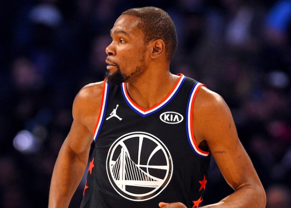 c117ce07f8c 2019 NBA All-Star Game Charlotte  Kevin Durant Named MVP