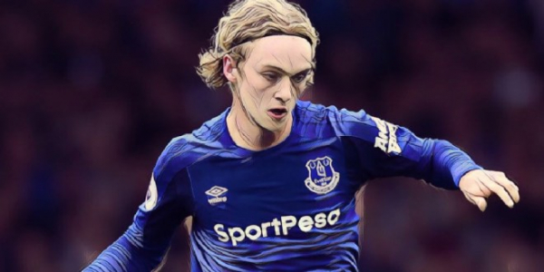 Davies looking to learn from 'excellent' Everton duo