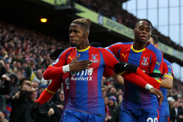Roy Hodgson insists Crystal Palace winger Wilfried Zaha has been punished enough for sending off