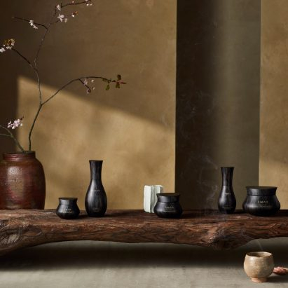 Kengo Kuma designs packaging for hotel brand Aman's skincare range