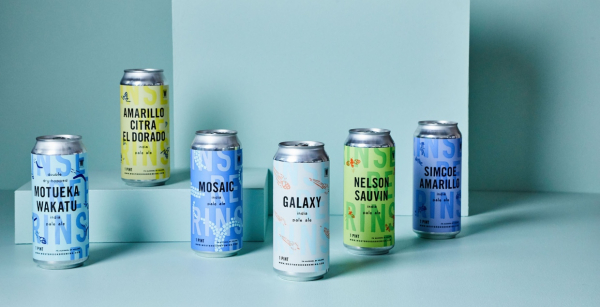 Westbrook Cans Packaging Design