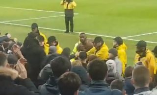 Video: Chelsea star in heated exchange with Blues fans after Manchester City thrashing