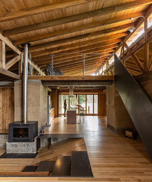 casa lasso by RAMA estudio is built from rammed earth in rural ecuador