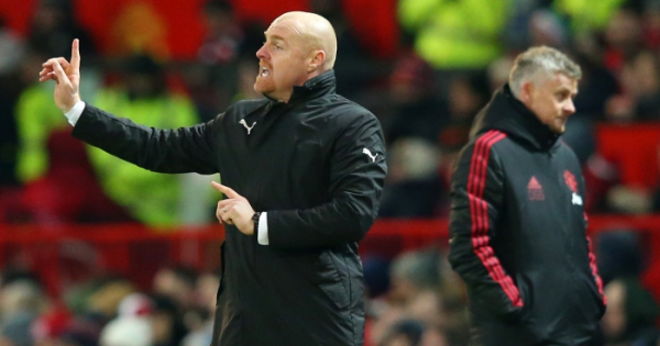 Dyche bemoans 'scratches of luck' in Burnley draws
