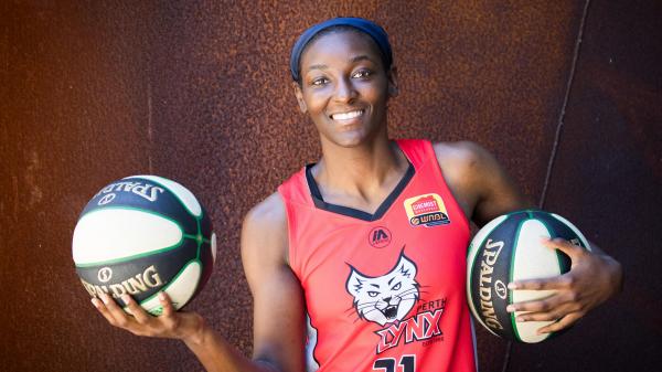 Perth Lynx's Asia Taylor in WNBL All-Star Five again