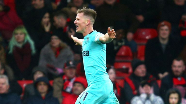 Late Ritchie volley denies Bournemouth