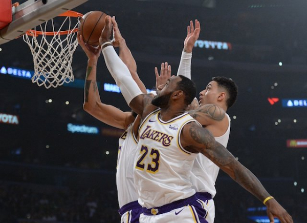 Lakers Highlights: LeBron James' Triple-Double, Kyle Kuzma's 21 Points In Third Quarter Leads L.A. Past Kings