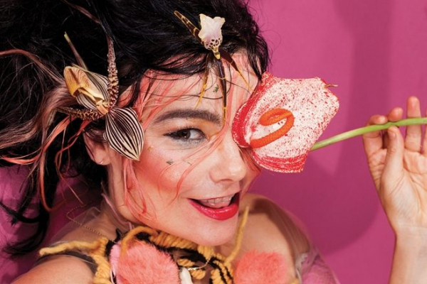 Björk reissues her albums on multi-colored cassettes