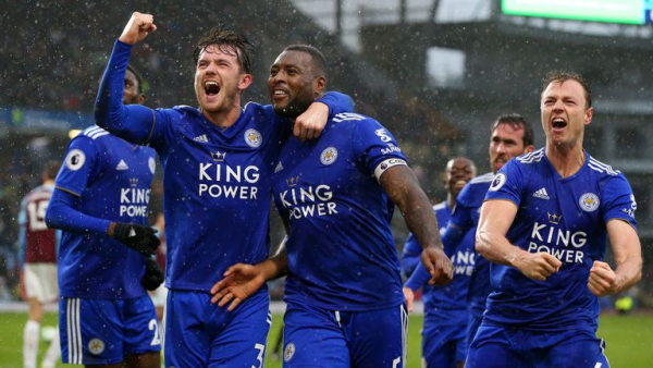 Ten-man Leicester stun Burnley