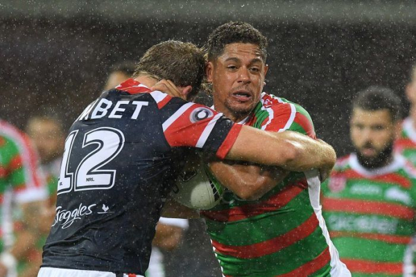 Rabbitohs begin Bennett era with win over Roosters, Knights beat Sharks