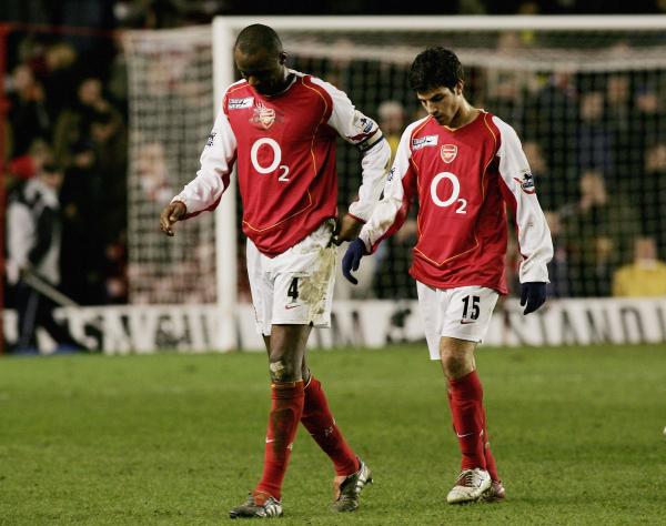 Cesc Fabregas reveals Patrick Vieira's joke about Arsenal exit during reunion