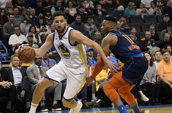 Curry's 33 lead Warriors past Thunder 110-88 without Durant