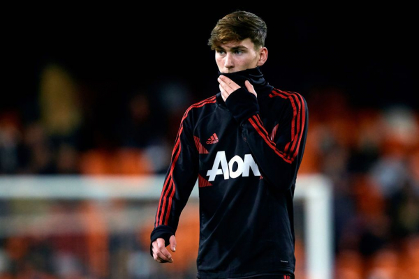 James Garner signs long-term contract with Manchester United after first-team breakthrough