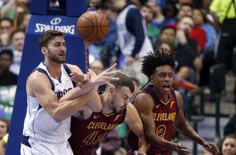 Mavericks top Cavaliers 121-116 as Dirk closes on Wilt