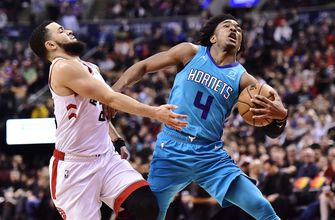 Lamb hits winning 3, Hornets down Raptors 115-114