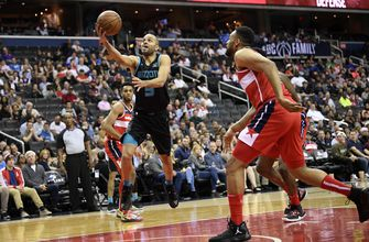 Walker leads Hornets past Wizards, 116-110