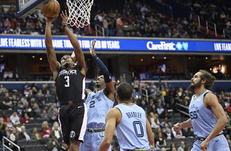 Beal scores 40 points, Wizards beat Grizzlies 135-128