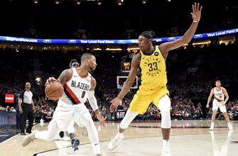 Blazers prevent Pacers from clinching with 106-98 win