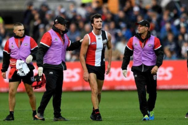 Heart issue sidelines Saint