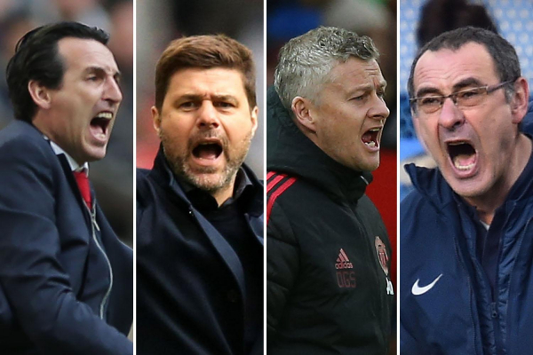 Man Utd, Arsenal, Tottenham, Chelsea - who will finish in the Premier League top four?