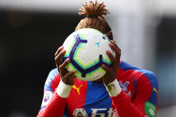 Concern for Crystal Palace over Wilfried Zaha hamstring injury with Roy Hodgson unsure when star will return