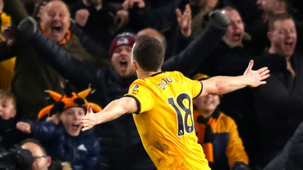 Wolves' magical night at Molineux