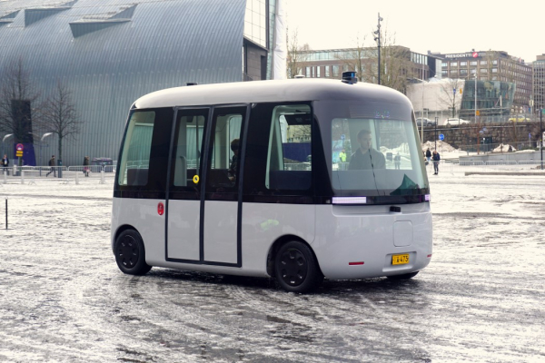 MUJI X Sensible 4's Self-Driving Bus premiered in Finland. We got a chance to sit in it!